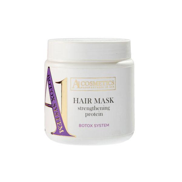 Маска протеиновая для укрепления внешней структуры волос, 500мл