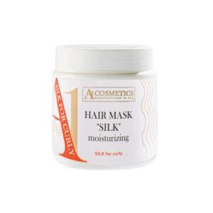 Маска «Шелк» глубоко увлажняющая для вьющихся и пушистых волос, 500мл